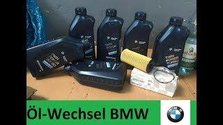 Ölwechsel A-Z BMW X3 F25