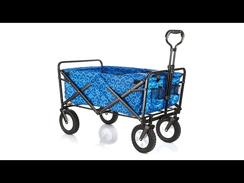 HGTV HOME Folding Wagon with Cooler