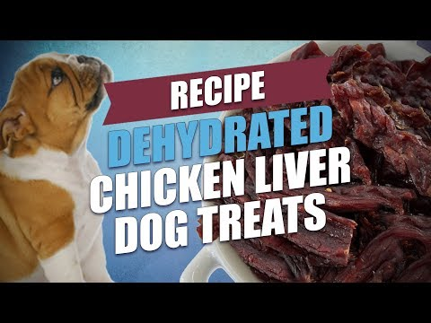 Dehydrated Chicken Liver Dog Treats Recipe