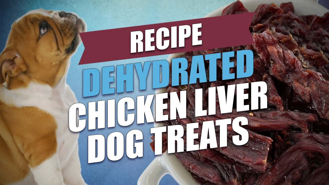 Dehydrated Chicken Liver Dog Treats