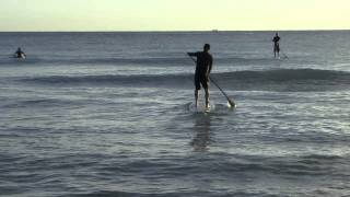 SUP - How to Launch in Surf