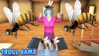 PenTV Troll Cô Giáo Món Quà Cực Kỳ Đặc Biệt - Scary Teacher 3D Hài Troll Game