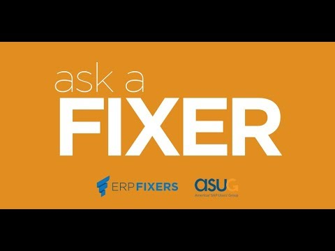 Ask A Fixer: What you should know about New Asset Accounting with S/4 HANA - ERPfixers