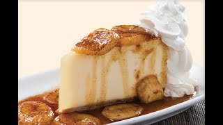 Bananas Foster Cheesecake | EASY TO LEARN | QUICK RECIPES
