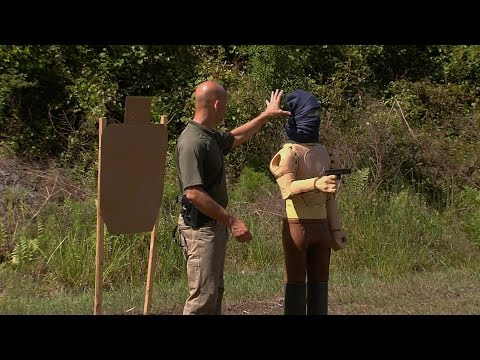Firearms Training: Angles with 3D vs 2D Targets
