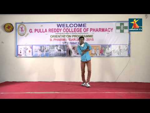 Tirupathi Reddy Dance From G.Pulla Reddy Collage of Pharmacy