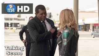 Captain Marvel Hindi (05/15) Captain Marvel Meet Nick Fury Scene MovieClips
