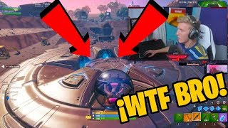Tfue discovers NEW Bug before volcano event - Fortnite Battle Royale