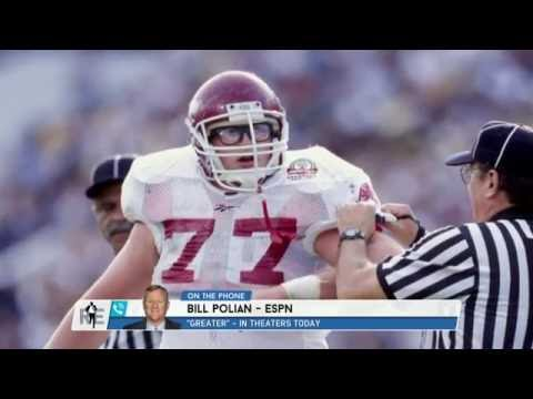 "ESPN NFL Analyst Bill Polian on Film ""Greater"" & More - 8/26/16"