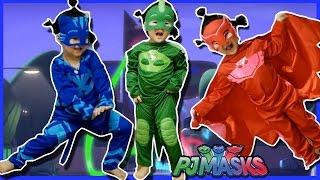 파자마 삼총사로 변신 PJ Masks car toys 도마배미 올빼미아 캣보이 의상 변신놀이 장난감 영웅놀이 리틀조이