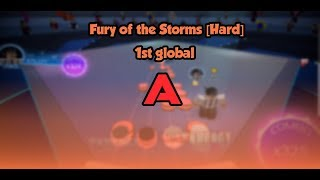 Roblox // Robeats - Fury of the Storms [Hard] A 1st global