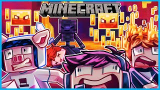 Minecraft but surviving the nether is IMPOSSIBLE with this mod...