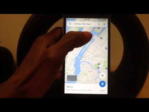Google Maps How to use Turn By Turn Voice Navigation (IPhon