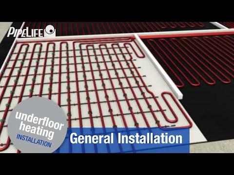 Pipelife Underfloor Heating - General Installation