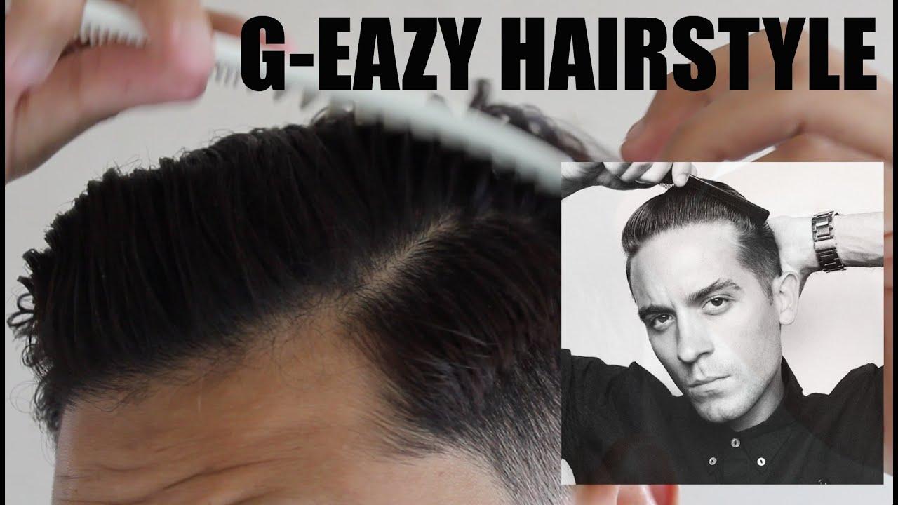 g eazy hair tutorial for wavy hair   youtube