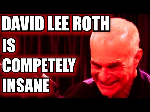 David Lee Roth Is Completely Insane With Joe Rogan Supercut Edition