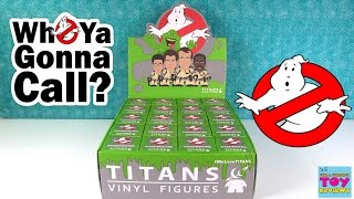Ghostbusters Titans Full Case Unboxing Rare Chase Figures Toy Review | PSToyReviews