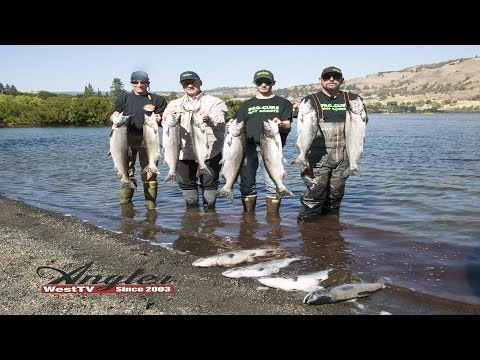 Klickitat River & Columbia River Hover Salmon Fishing