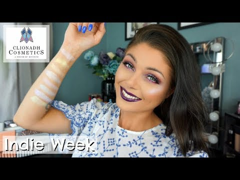 Clionadh Cosmetics - Swatches & Try On | Indie Week #7