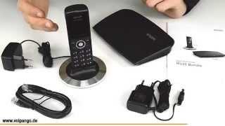 snom M325 IP-DECT-Bundle mit Basisstation und Mobilteil Review / Unboxing | voipango.de