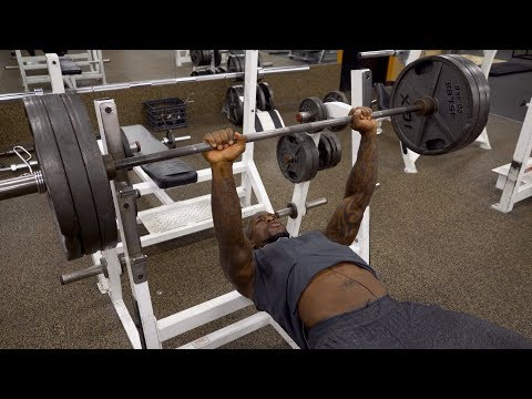 Push-Pull Superset Workout Ft. NFL Tight End Vernon Davis