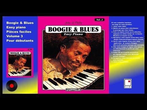 PARTITIONS - MÉTHODE DE PIANO BOOGIE & BLUES VOL.3  POUR DÉBUTANTS - COPPELIA OLIVI
