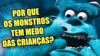 Teoria da Pixar Atualizada: Por que os Monstros acham que crianças são tóxicas?
