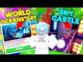NEW World Oceans Day Update & Sky Castle Update in Adopt Me 🐳 FREE ITEMS (Roblox)