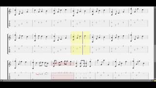 Đón Xuân ! Phạm Đình Chương (C) guitar solo tab by D U Y