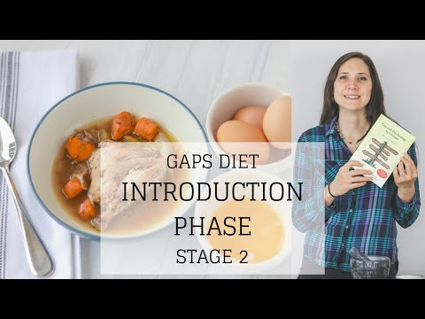 GAPS Diet Introduction Phase Stage 2 | GAPS DIET STAGE 2 | Bumblebee Apothecary