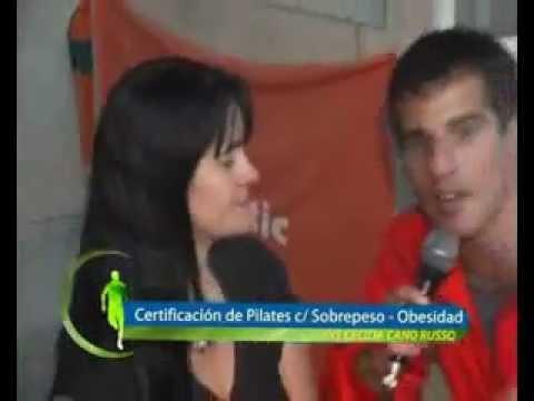 Cecilia Cano R. Pilates para sobrepeso y obesidad