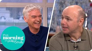 Karl Pilkington Reveals Why He Shared His Underwear in a Manchester Park | This Morning