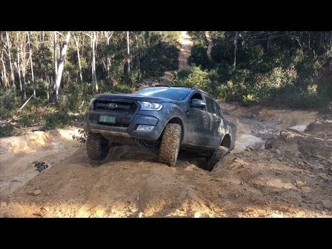 Ford Ranger Wildtrak first time off-road | 4x4 @ Lithgow NSW
