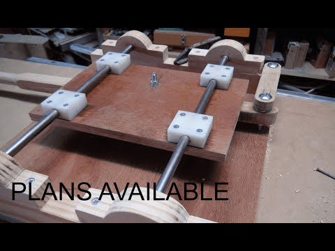 Horizontal Router Mortiser - Homemade - part 1