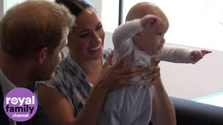 'Busy' Baby Archie Leaves Desmond Tutu's Daughter in Hysterics