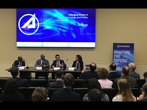 Center for Space Policy and Strategy panel: