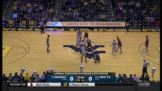 NCAAB 12 5 2017 Virginia at West Virginia 720p60
