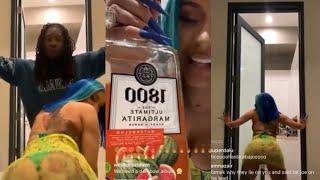 Cardi B Gets Drunk W/ Offset ❗️ STARTS TWERKING & Gets Aggres¡ve ❗️😂😱)