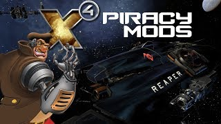 Piracy Mods You NEED to be a Better Space Pirate! | X4 Foundations