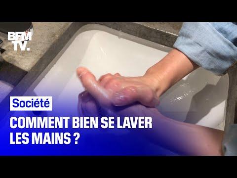 Coronavirus: comment bien se laver les mains?