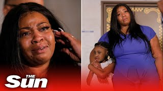 Mother of George Floyd's daughter, 6, in tears as she says he'll 'never walk her down the aisle'