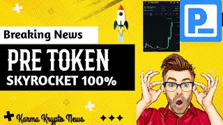 PRE coin Skyrocket - Presearch Token to the Moon 100% Sudden surge - Cryptocurrency Latest News