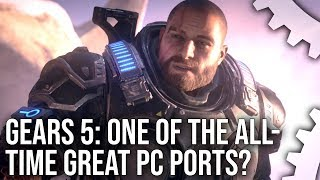 [4K] Gears 5 PC: One Of The All-Time Greatest PC Ports?