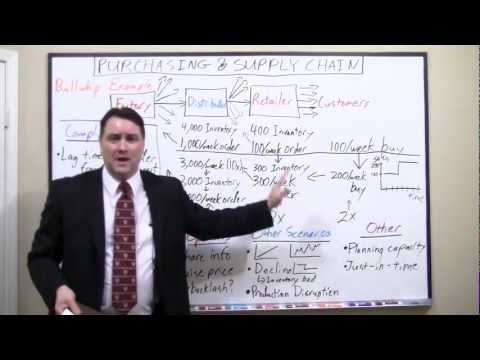 Sample of Keith White's Purchasing & Supply Chain presentation