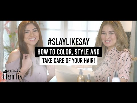 How to color, style and take care of your hair with Hairfix by Lifestrong