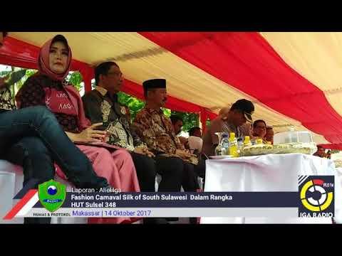Dinas Pendidikan & Kebudayaan Kab. Barru ikut Fashion  Carnaval Silk Of South Sulawesi