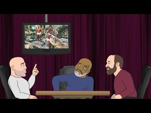 Mike Tyson's Tiger Moment - JRE Toons