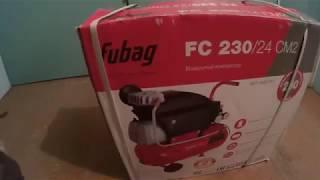 видео Компрессор воздушный масляный Fubag FC 2/24 CM2