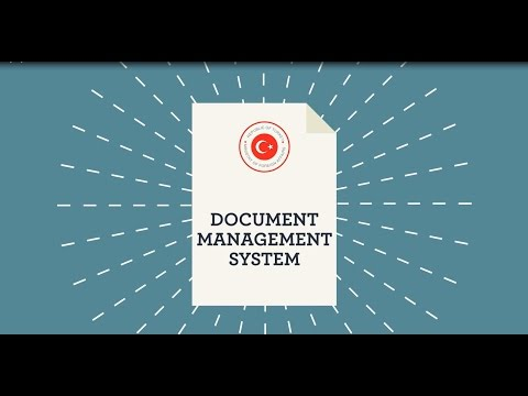 Document Management System of the Ministry of Foreign Affairs-BelgeArsiv