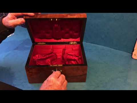 Antique Victorian Jewellery Box